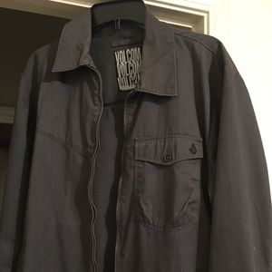 Men's large Volcom grey jacket